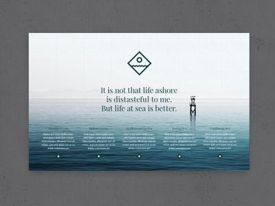 EVER WONDER™ // SEA #ocean #vector #branding #icon #icons #texture #grid #sea #logo #web #green