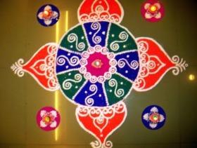 Diwali special rangoli desigs