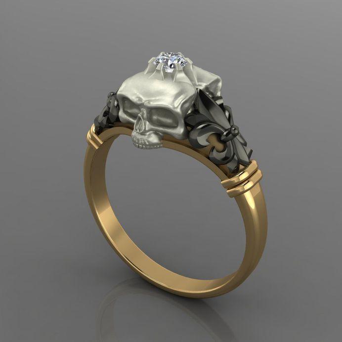 ring 3d model obj 3ds stl 3dm 1