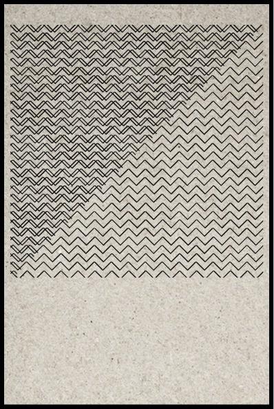 SUZANNE CLEO ANTONELLI #geometric #pattern #chevron #density