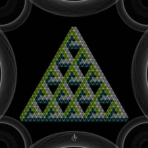 sequences #abstract #pattern #design #sacred #geometric #tri #anguianographics