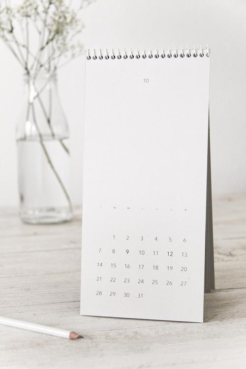 happy new calendar! #calendar #editorial