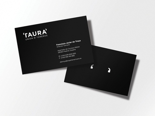 TAURA (at Interbrand) on the Behance Network #logotype #spain #business #card #quotes #jonathan #vega #barcelona #orta #taura