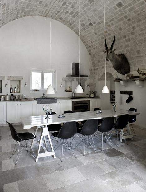 Летний дом на юге Италии #interiors