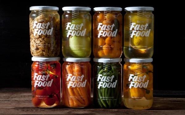 korefe slow fast food #packaging #type #pickled #design