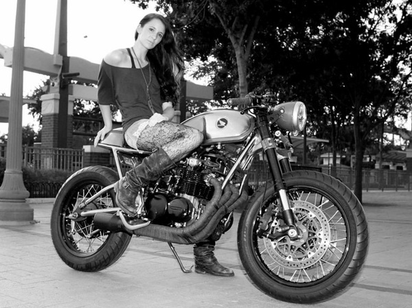 Sofi's CB550 BW RS 3 700 #motorcycle