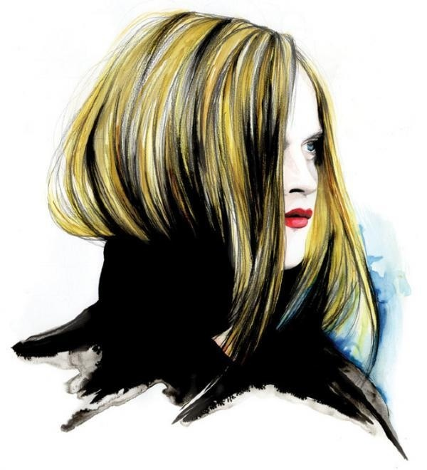 Fashion Illustrations by Caroline Andrieu #fashion #andrieu #illustrations #caroline