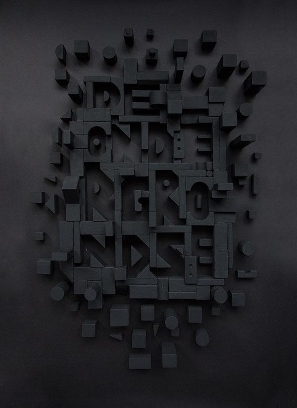 De Ondergrondse on Behance #design #graphic #poster