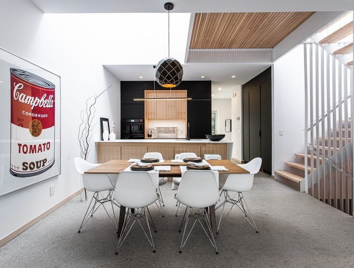 dining room / Fugere Architecture
