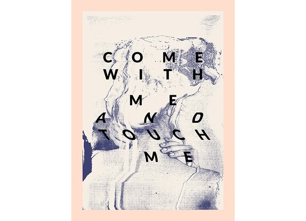 Melted Taisido #melt #pink #photocopy #design #poster #blue #personal #typography