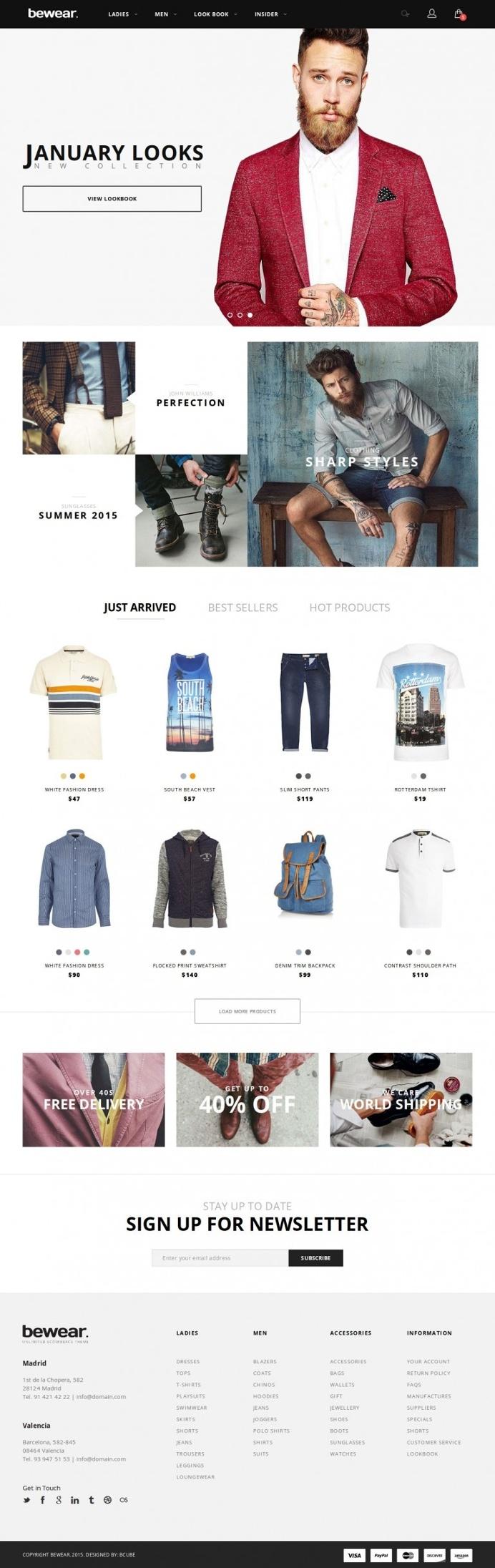 Bewear – Fashion LookBook