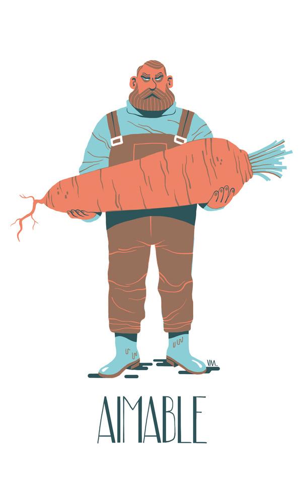Vincent Mahé+ Portfolio #carrot