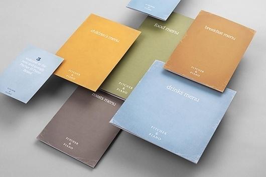 Studio Output™ #branding #food #identity #bar #cards
