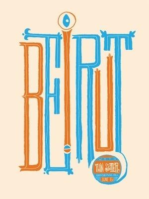 Flyer Design Goodness - A flyer and poster design blog #music #beirut #poster