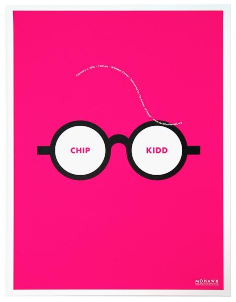 Chip Kidd Poster #poster