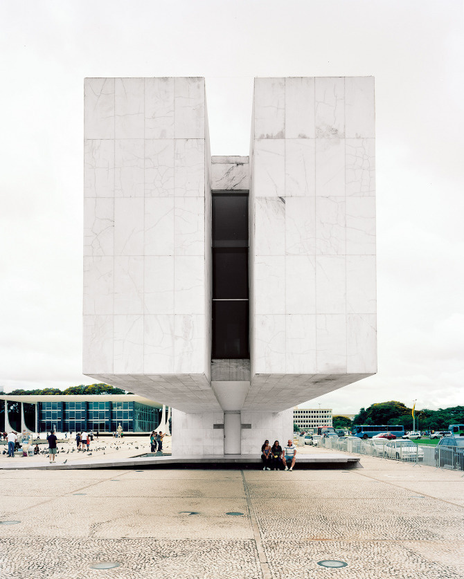 Brasilia - Ian Allen Photography #brasilia #large format #architecture #modernism