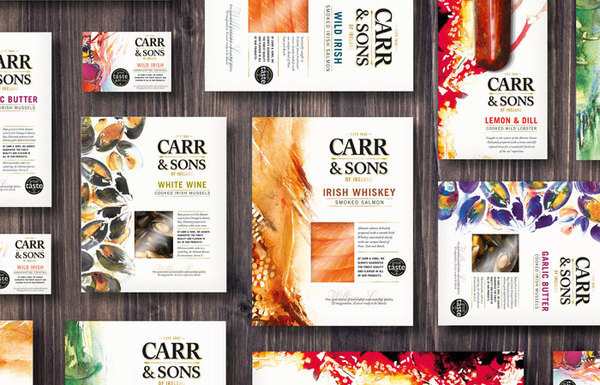 Carr&Sons Package Design