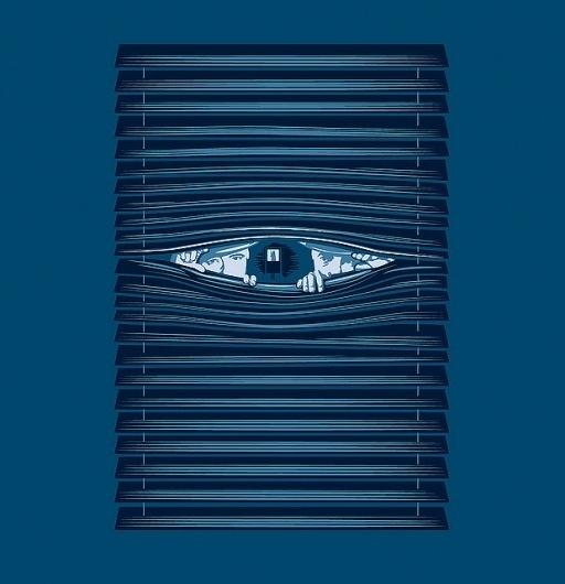 All sizes | Private Eye | Flickr - Photo Sharing! #blinds #frankplastic #noir #eye #illustration #film