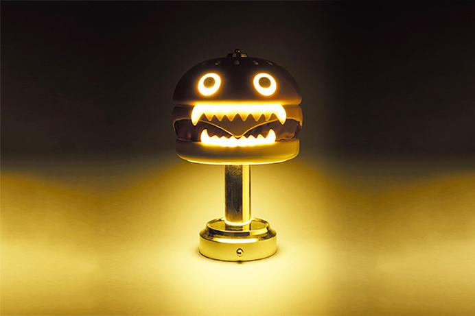#undercover #hamburger #lamp