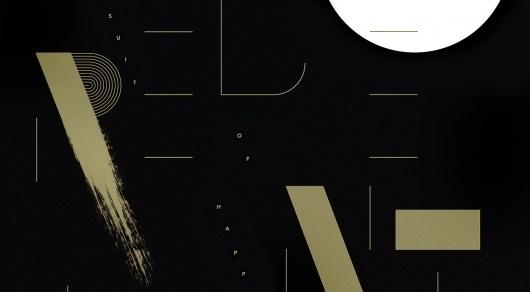 Work, Computer Arts — Sawdust #ink #gold #typography