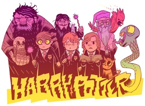 http://mrhipp.tumblr.com/page/6 #harry #dan #potter #hipp #illustration