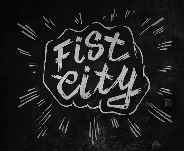 GUEST23 Curtis Jinkins_02_FistCity #curtis #fist #jinkins #typography