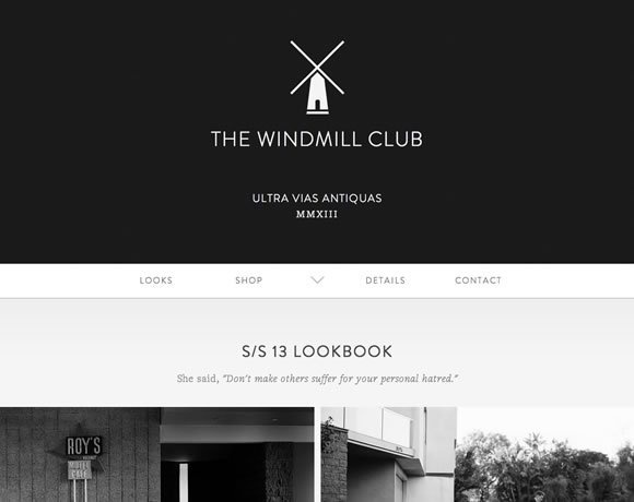 21 Examples of Black, White & Grey in Web Design #website #web