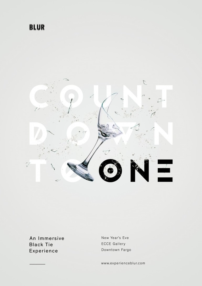 Countdown to One Poster by Ashwin Kandan