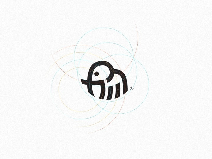Elephant / Mark #logo #design #identity #elephant