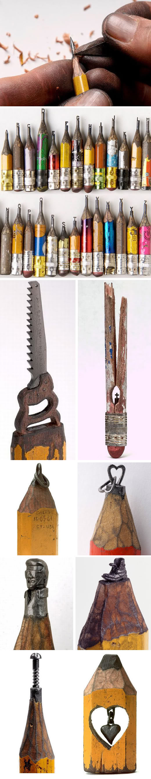 Pencil Carvings #carvings #pencil