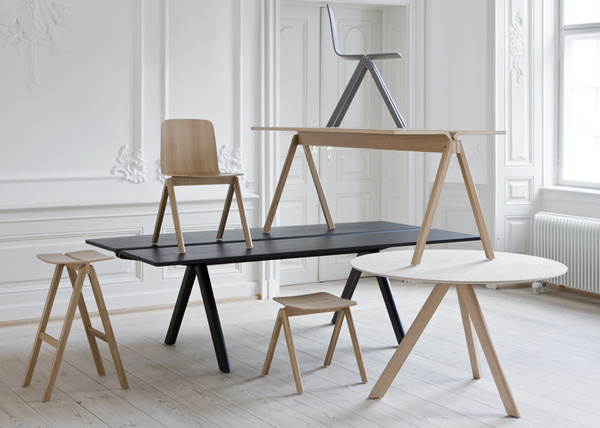 Bouroullec chairs for University of Copenhagen #tables #chairs #interiors #wood #furniture