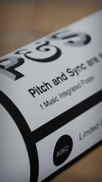 P&S #post #limited #edition #print #design #tube #label #sync #pitch #music #stephen #dad