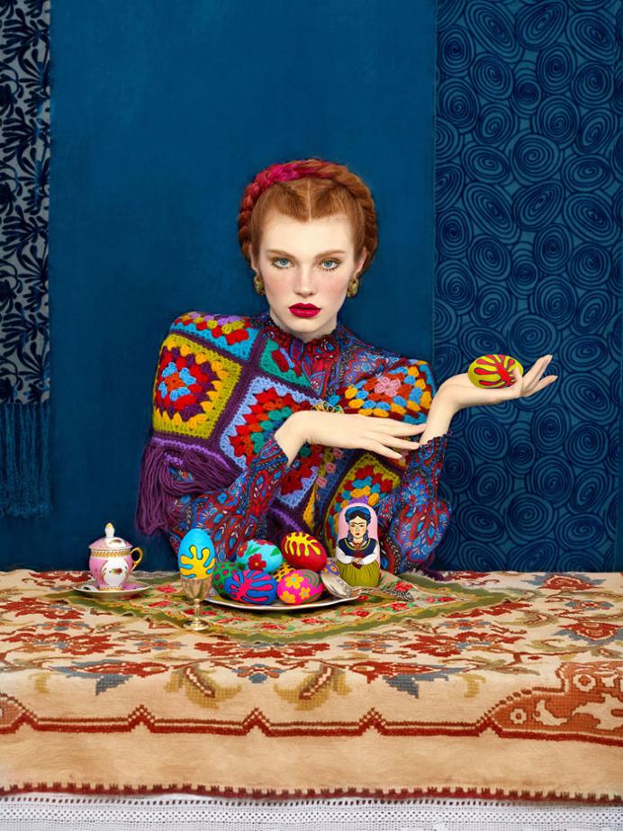#photo #portrait #pattern #color photo by Andrey Yakovlev