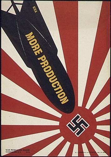 17-0679a | Flickr - Photo Sharing! #1940s #propaganda #ww2 #war #germany #illustration #poster