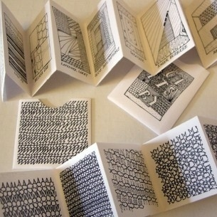 Book By Its Cover » Pebbles, Strange Attractor, Quits, Legend and other small books #illustration #zine #book