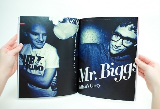 Corey Biggs Article #corey #spread #biggs #magazine