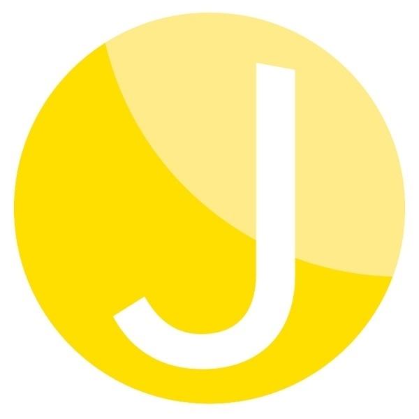 Designspirations #circle #typography #yellow #jeg #foundation #logo #sonsfathers