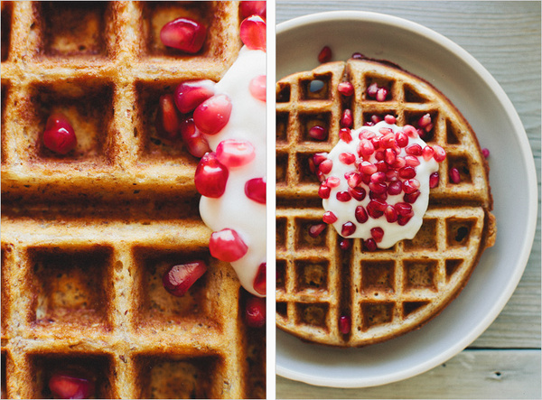 MULTIGRAINÂ WAFFLES SPROUTED KITCHEN A Tastier Take on Whole Foods #food