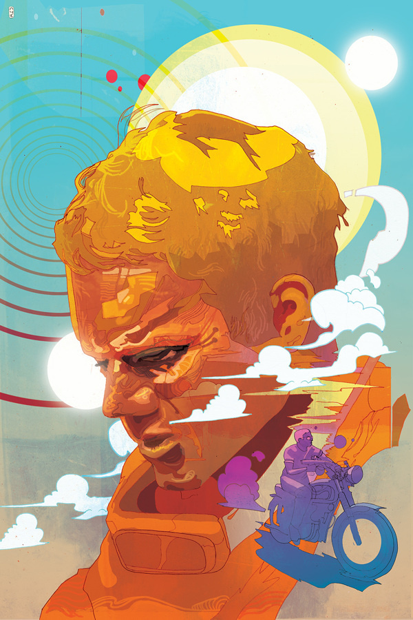 'Live For Myself, Answer To Nobody' #illustration #sketch #color #digital illustration #christian ward