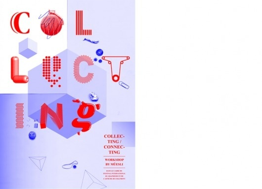 Atelier Müesli – Design graphique #color #typography