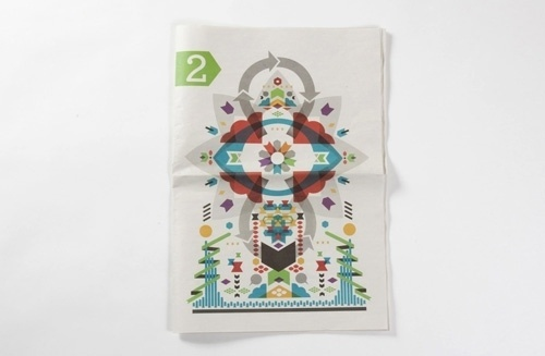 Graphic-ExchanGE - a selection of graphic projects #design #paper