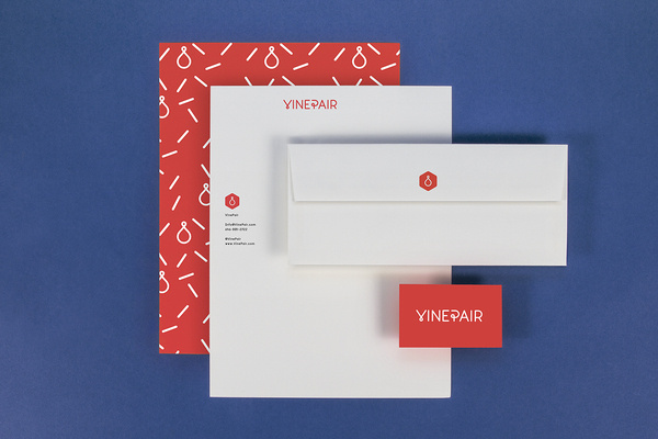 """Leta Sobierajski http://letasobierajski.net""""Quoted by VinePair, """"You should never feel intimidated because you don't know what #vinepair #red #branding #wine #identity #blue #layout"""
