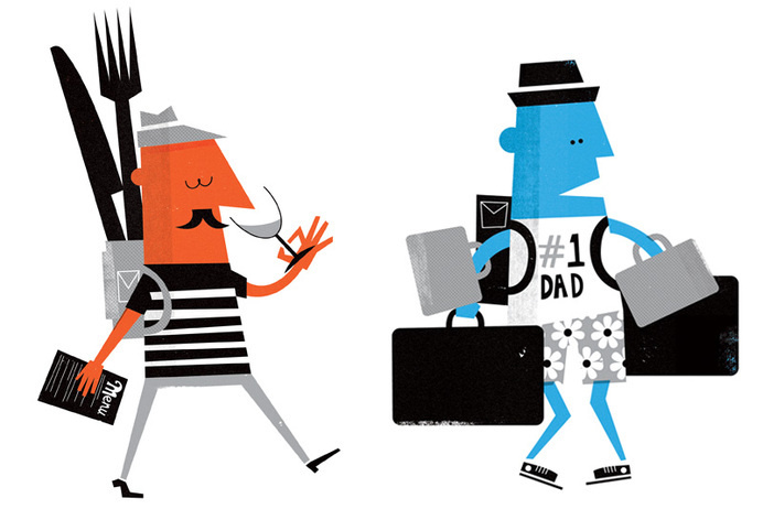 Let's Go Magazine Illustration #illustration #character