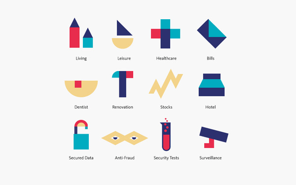 Bedow — Examples of Work — Identity, Qapital #icon #brand #colour #symbol