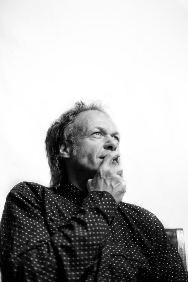 A crazy guy - http://lukas-schweizer.ch #white #& #black #photography #portrait