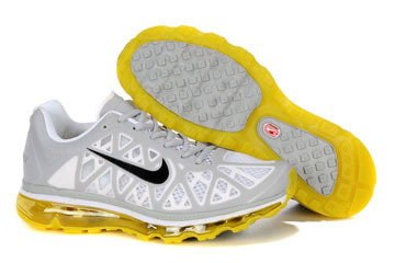 Nike Air Max 2011 Pure Platinum Sonic Yellow White Anthracite-Mens #shoes