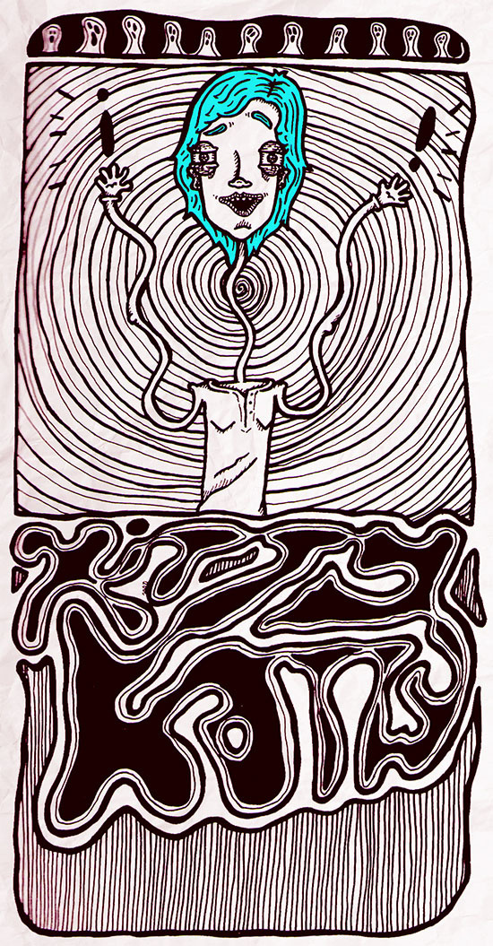"""Kitty Katty"" by Molly Yllom #illustration #character #design"