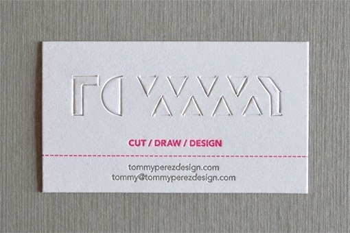 Tommy Paperkut Business Card #card #collateral #business