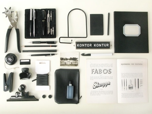 poppytalk: Collecting Collections: Kontor Kontor #objects