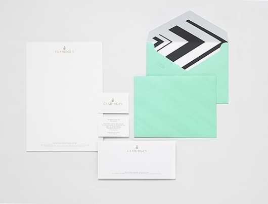 Creative Review - Claridge's rebrand